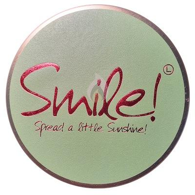 Lily Flame Smile Candle Tin Candle Tin Lily Flame