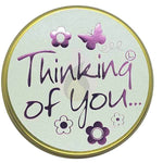 Lily Flame Thinking of You Candle Tin Candle Tin Lily Flame