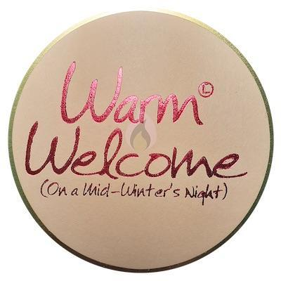 Lily Flame Warm Welcome Candle Tin Candle Tin Lily Flame