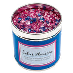 Lotus Blossom Scented Candle Tin Candle Tin Best Kept Secrets