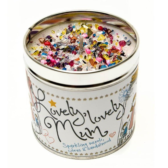 Lovely Lovely Mum Just Because... Candle Tin Best Kept Secrets