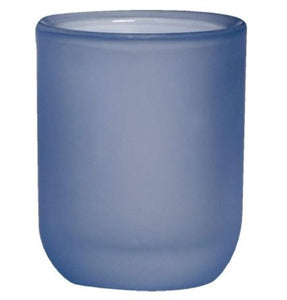 Misty Blue Tealight Candle holder Accessories Bolsius