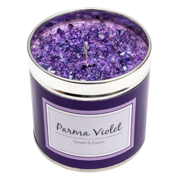 Parma Violets Scented Candle Tin Candle Tin Best Kept Secrets