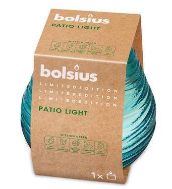 Patiolight Outdoor Candle - Blue Outdoor Bolsius