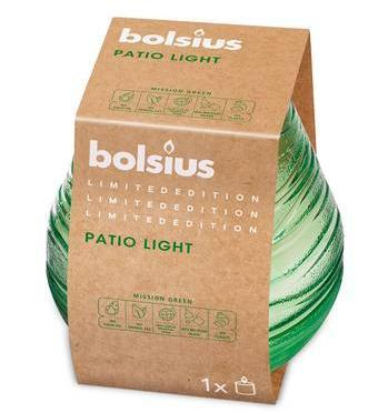 Patiolight Outdoor Candle - Green Outdoor Bolsius