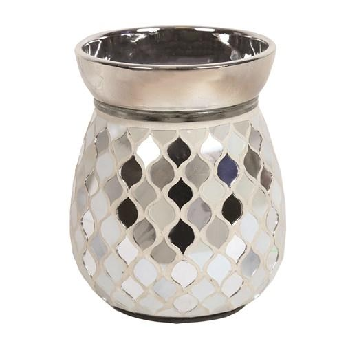 Pearl & Silver Mosaic Electric Burner Electric Burner Aromatize