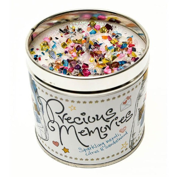 Precious Memories Just Because... Candle Tin Best Kept Secrets