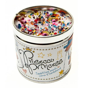 Prosecco Princess Just Because... Candle Tin Best Kept Secrets