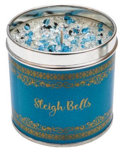 Sleighbells - Christmas Elegance by Best Kept Secrets Candle Tin Best Kept Secrets