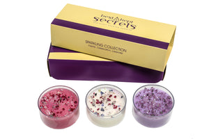 Sparkling Three Lites Candle Gift Set Candle Best Kept Secrets