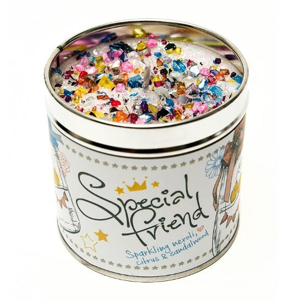 Special Friend Just Because... Candle Tin Best Kept Secrets