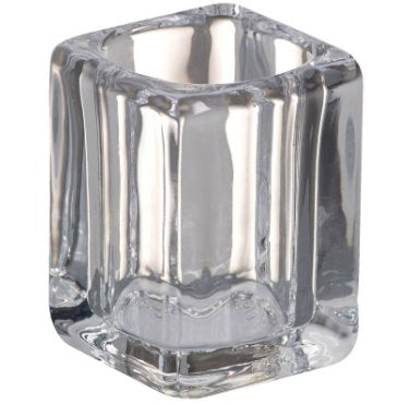 Tall Square Glass Tealight holder Accessories Bolsius