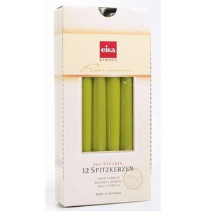 Tapered Dinner Candle - Lime Green (Single) Taper Bolsius