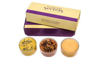 Three Lites Candle Gift Set Candle Best Kept Secrets Indulgent