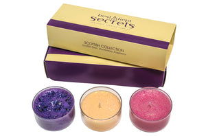 Three Lites Candle Gift Set Candle Best Kept Secrets Scottish