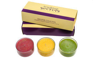 Three Lites Candle Gift Set Candle Best Kept Secrets Smoothie