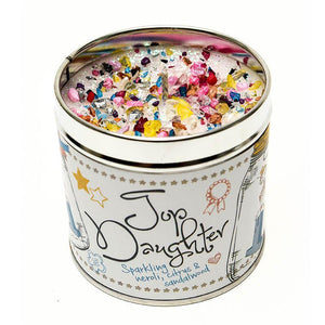Top Daughter Just Because... Candle Tin Best Kept Secrets