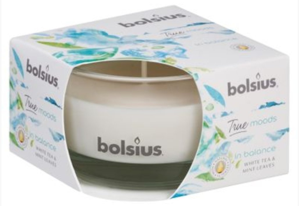 True Moods Small Candle - In Balance Candle Bolsius