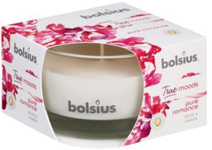 True Moods Small Candle - Pure Romance Candle Bolsius