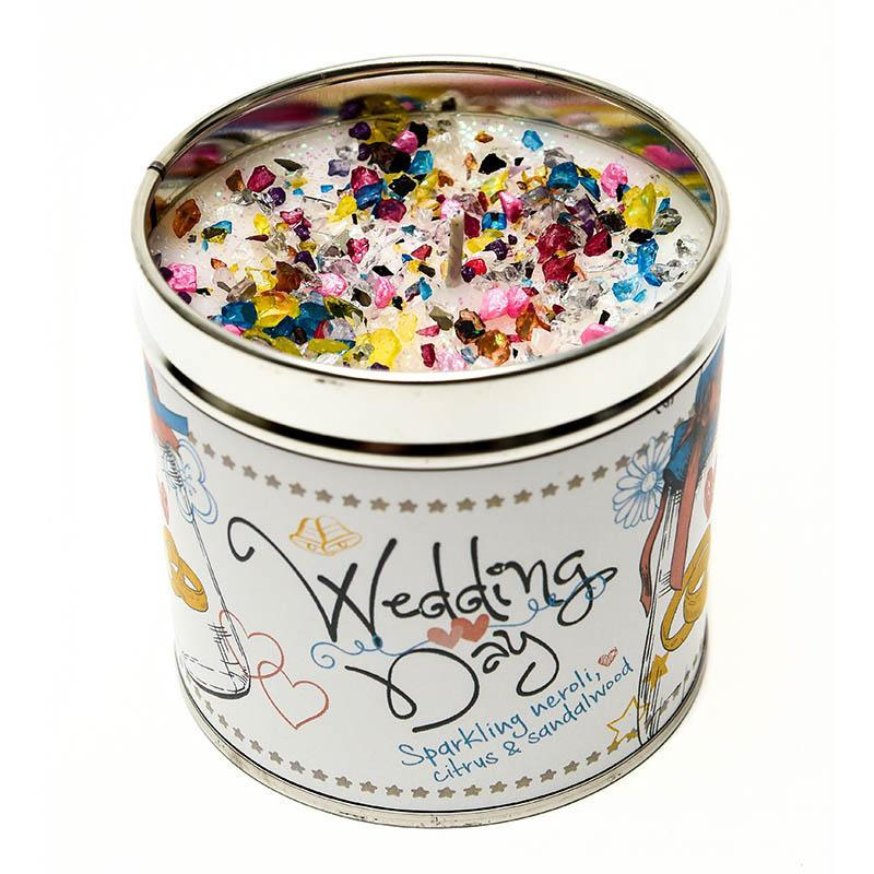 Wedding Day Just Because... Candle Tin Best Kept Secrets