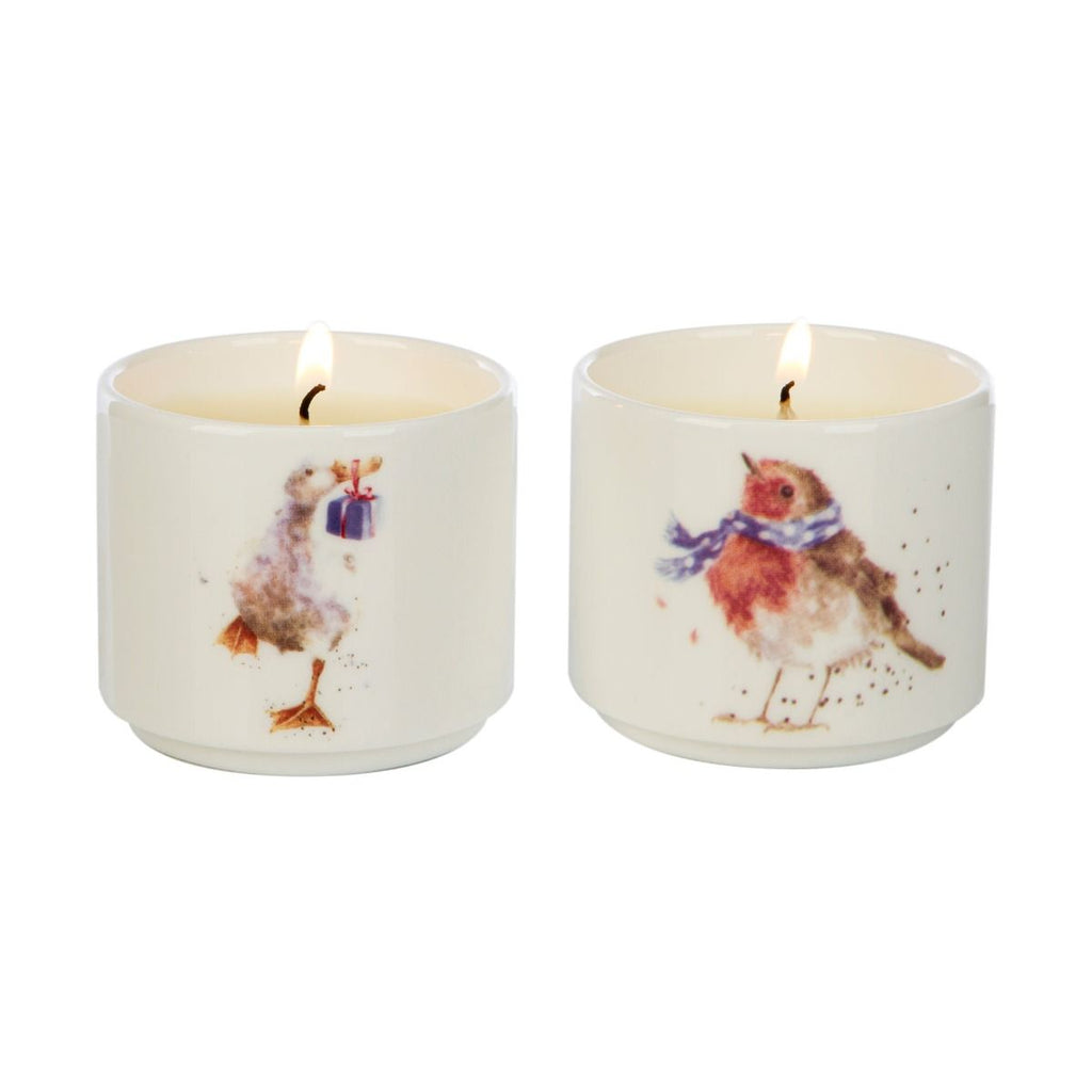 Wrendale Winter Wonderland Candle Gift Set by Wax Lyrical