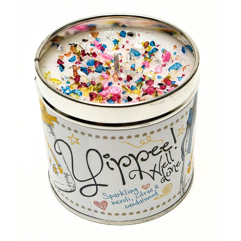 Yippee Well Done Just Because... Candle Tin Best Kept Secrets