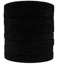Load image into Gallery viewer, [NEW!] Black Finger Tape - 0.3 in x 15 yds, 8 Rolls (Ships Worldwide)
