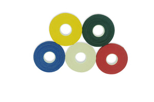 Multicolor Finger Tape - 0.3 in x 15 yds, 5 Rolls [Australia Only]