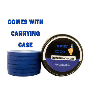 Blue Finger Tape - 0.3 in x 15 yds, 6 Rolls