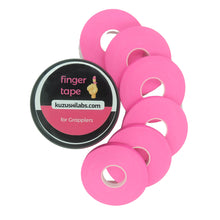 Load image into Gallery viewer, Finger Tape for Grappling, Judo, Climbing 0.3 in x 15 yds, 6 Rolls per Pack (Pink)
