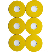 Load image into Gallery viewer, Yellow Finger Tape - 0.3 in x 15 yds, 6 Rolls [Amazon Only]