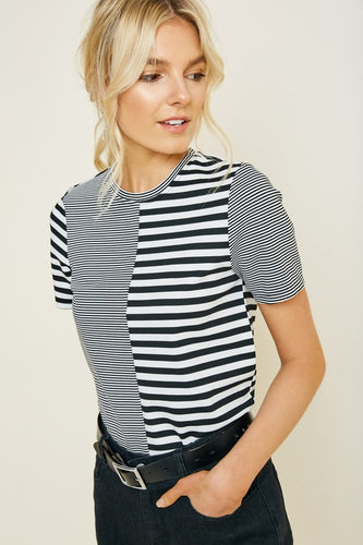 Dual Stripe Top