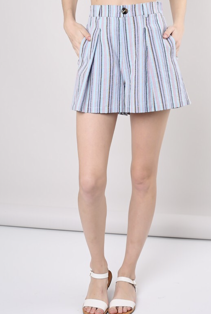 Multi Stripe Short