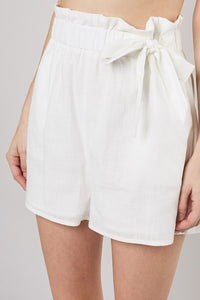 Ribbon Tie Shorts