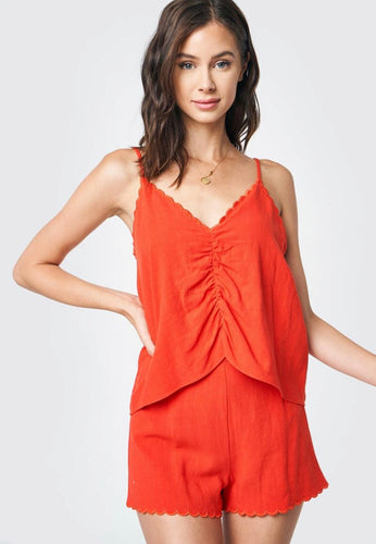 Scallop Edge Cami