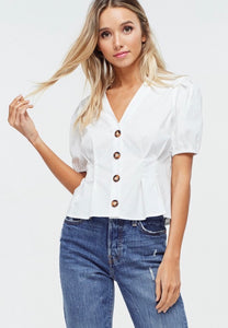 Button Down Top