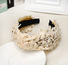 Load image into Gallery viewer, Lace Headband
