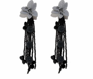 Drop Flower Earring