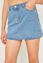 Load image into Gallery viewer, Mini Denim Skirt