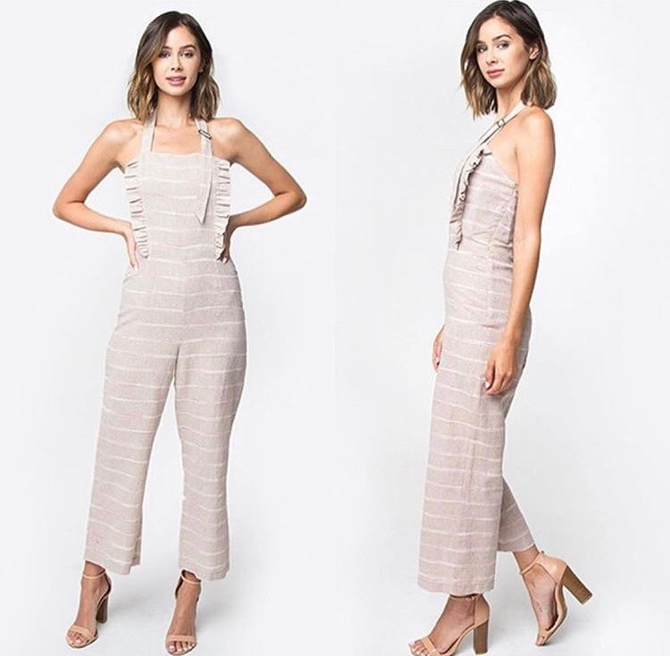 Stripes Jumpsuit