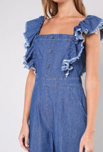 Load image into Gallery viewer, Denim Jumpsuit