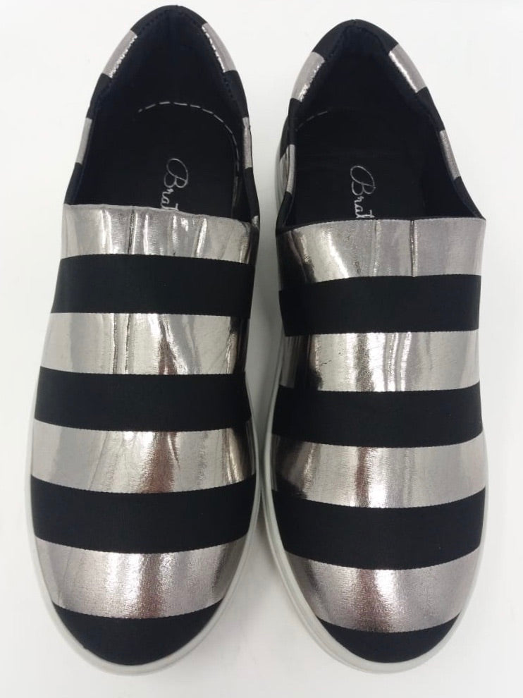 Sparkle Stripes Sneakers