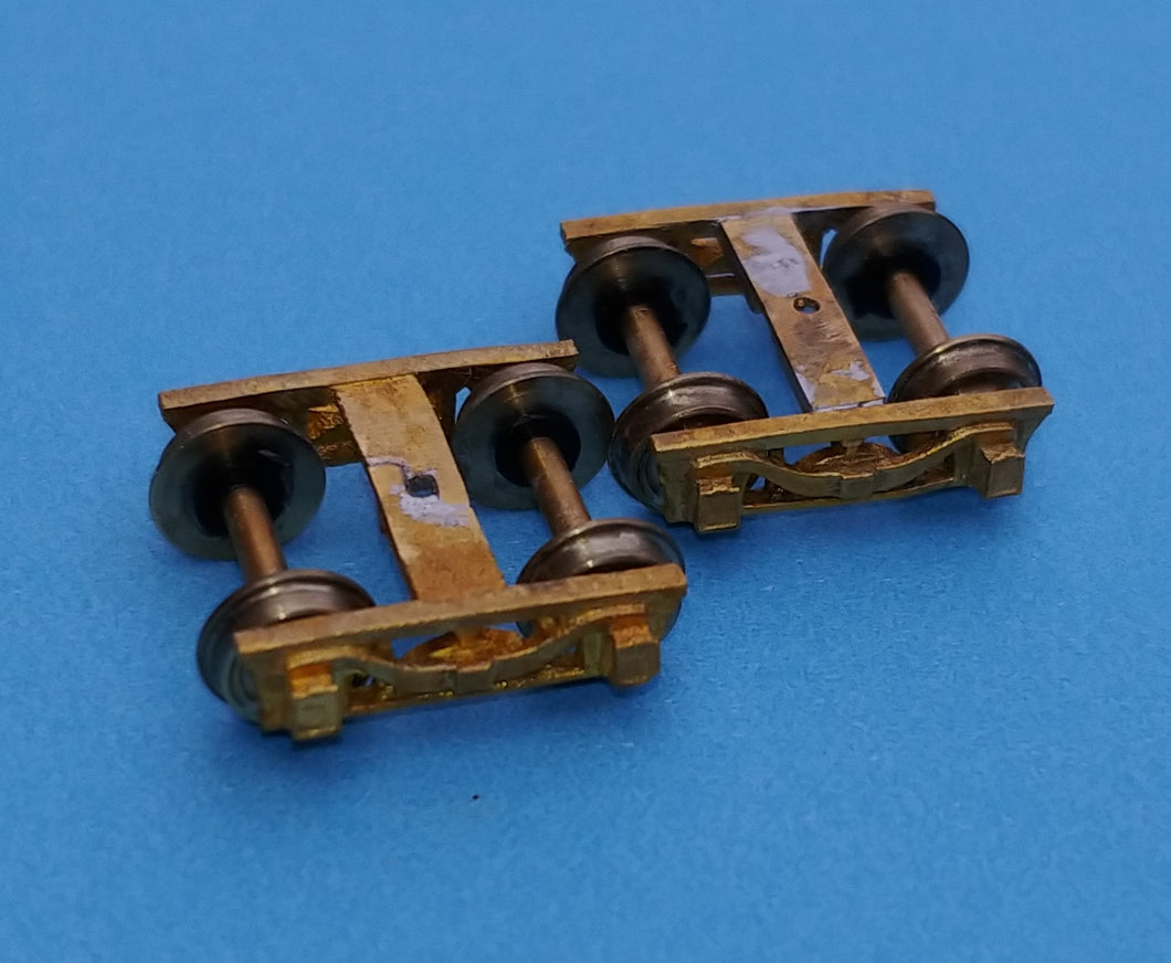 N scale 4 wheel N&W  tender truck Side frame castings