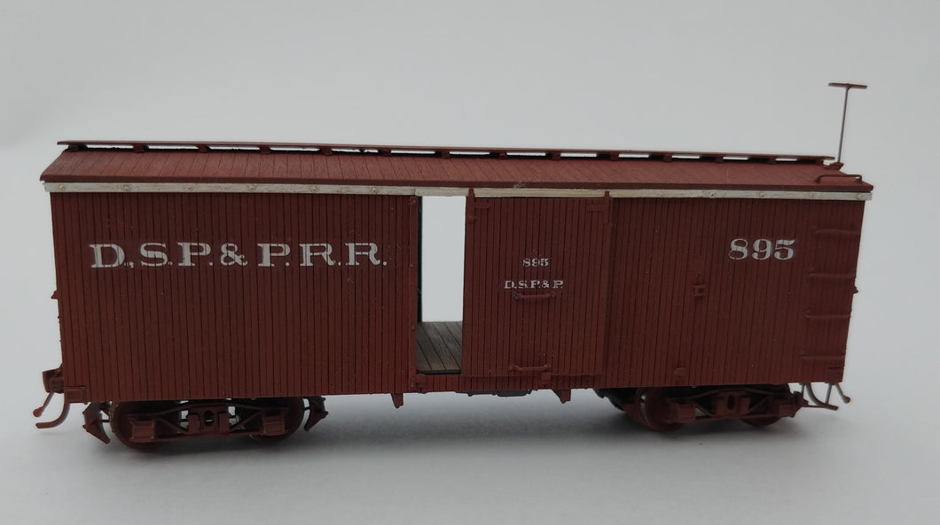 HOn3 DSP&P/C&S 27' Boxcar Kit