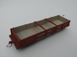 1:64 Sn3 D&RG B&S 28' Coal car