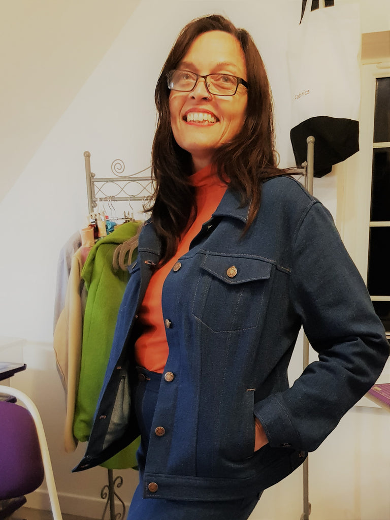 Pattern review Atenas Jacket- Itch to Stitch