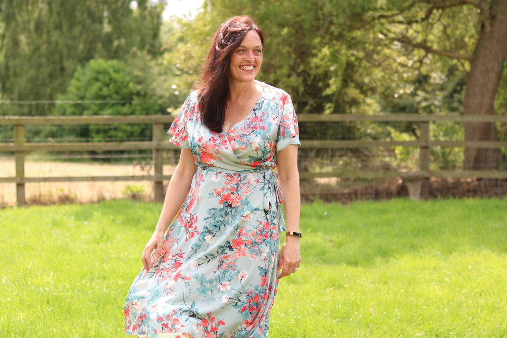 Sew Over It 'Eve dress' grading between sizes with success