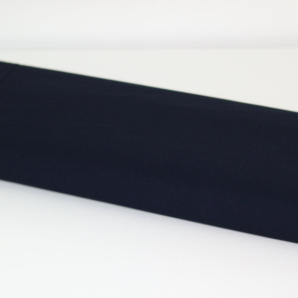 Stretch Gabardine- Navy
