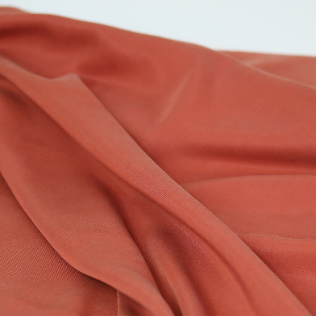 Tencel Twill- Burnt Orange