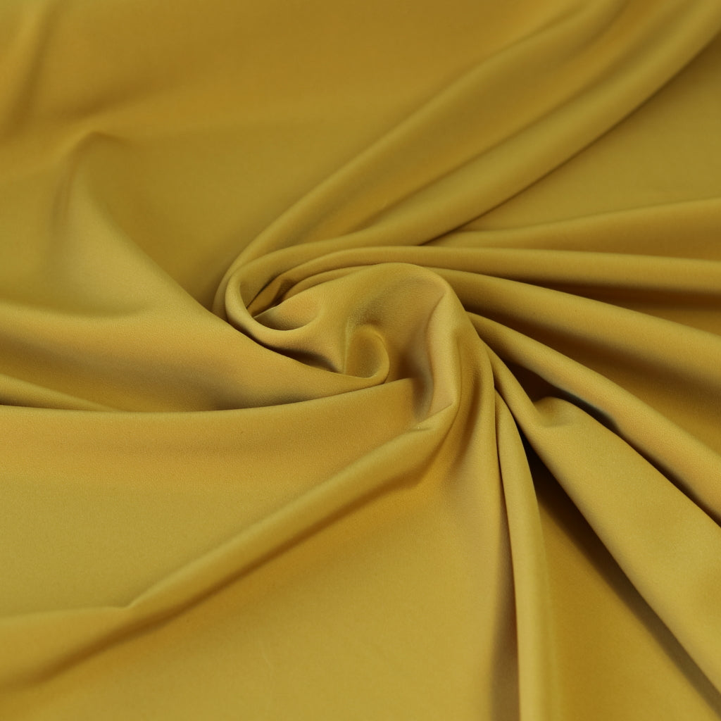 Luxury Crepe- Mustard